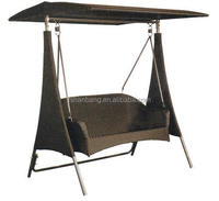 Outdoor Patio Two Double Seat Swing