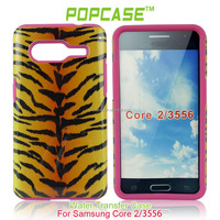 high accurate measurement phone cover for Samsung 3556 2 in 1 silicone case
