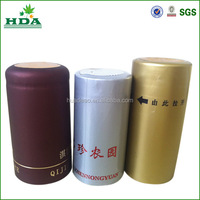 China manufacturer red wine caps, PVC shrink capsule professional supplier
