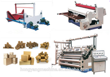 wonderful and useful single facer making corrugated board carton production line