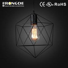 New design decorative led ring pendant lamp