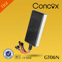 CONCOX GT06N car remote system Battery gps tracking mini chip gps tracker Weight sensor for trucks gps tracking