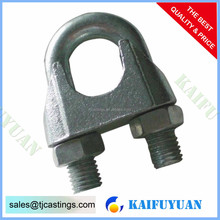 Malleable Fasteners Wire Rope Clips