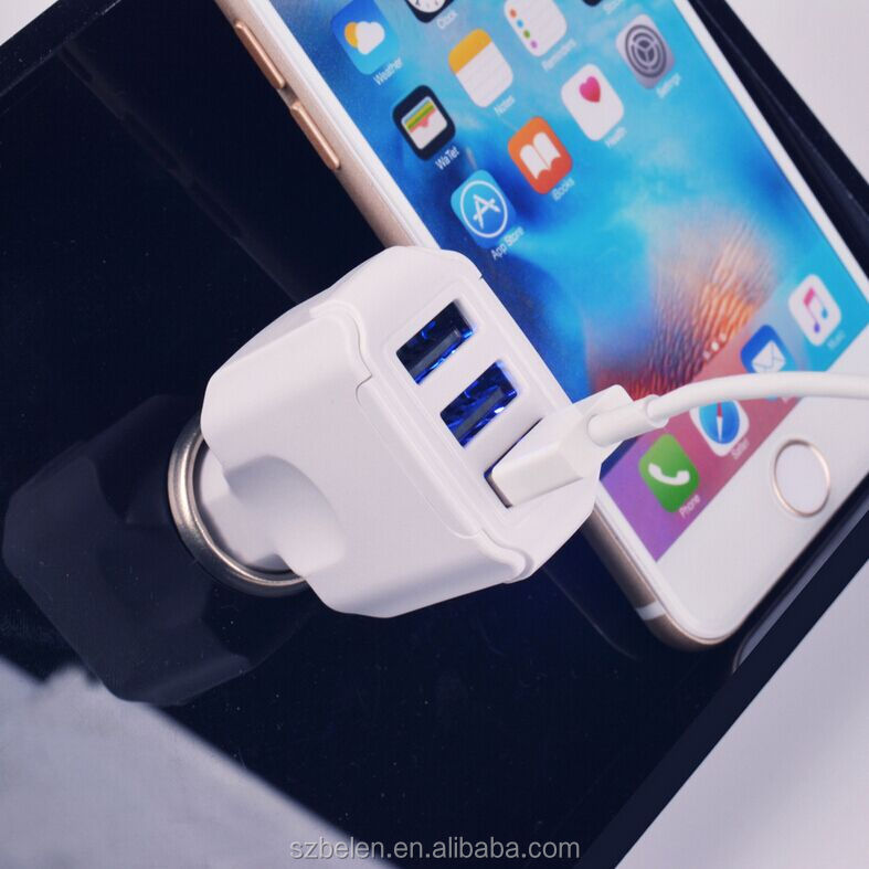 QC3.0 42W 3 USB charger-5
