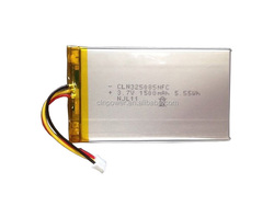 lithium polymer battery 3.7v 1500mah li-ion battery