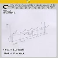 YB-J031 New Style Metal Over Door Cloth Hook 50cm Over the Door Towel Hooks
