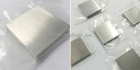 BI Metal Bismuth SHEET/TARGET 99.99% purity of size 508*508*80mm