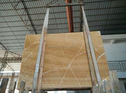 Export China honey/yellow onyx natural yellow marble