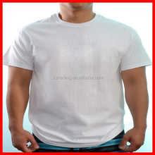 Wholesale plain white t shirts 100% cotton