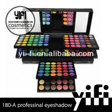 Wholesaler ! 180-A eyeshadow palette makeup kit HK show