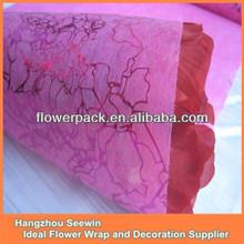 baratos flor de papel de embalaje