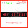 9 digits led numeric screen gym fitness timing device
