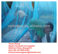 Long Lasting Insecticide Treated Mosquito Net Moustiquaire coated with WHOPES certified Deltamethrin