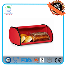 family red bread storage container for sale decorative