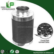 hepa air fresh filter for hydroponics/hydroponics coconut shell activated carbon filter
