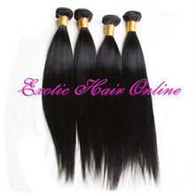 Exotichair virgin indian hair mixed lot natural black hair care products wholesale