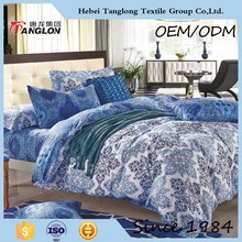 Beautiful blue and white Chinese style hot sale bedding sets of pure cotton in China of good quality and low price