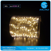 Wedding gifts warm white silver wire led string lights