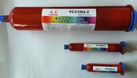 YC3195LV uv loca glue for mobilephone cellphone outer glass lens