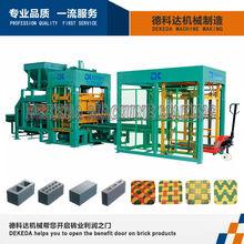 DK6-15B Nuevo tipo de la venta de la máquina de ladrillo vibrado caliente