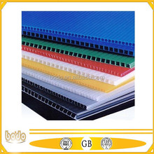 3mm corrugated plastic sheets, PP plastic sheet for box