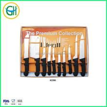 10pcs stainless steel knives set butcher knife tomato knife