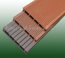 25x135mm Black/Brown/Grey popular color WPC outdoor WPC composite decks with best price
