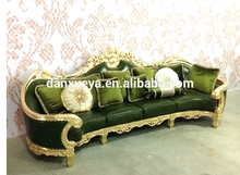 danxueya- fancy wooden french leather sofa sets / french modern design lobby furniture/cheers sofa furniture from french