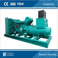 500kVA Googol Diesel Generator Excitation System Self Excitation Brushless