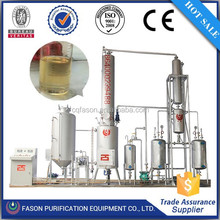 Multi-functional automatic control waste oil purification recycle plant