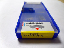 ZCCCT carbide indexable insert YBG202 APKT11T304-PF at wholesale discount price, short delivery
