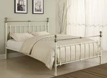 latest double bed designs 3ft/4ft/5ft adjult wood slats metal base bed frame