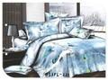 100% de algodón suave sensación de la mano reactiva impreso invierno mariposa 3d conjunto ropa de cama