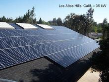 Easy equipment 30kw high efficiency home solar panel kit