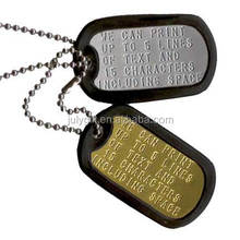 Black or Colorful Rubber silencer military dog tags