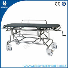 BT-TR014 hospital medical trolley general purpose patient transport stretcher supplier