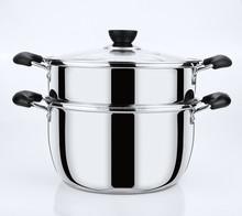 stainless steel cooking utensils steamer pot set 2015