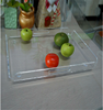 Transparent fashionable durable acrylic tray whoelsale for fast food