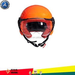 High bright light motor cross half face helmet