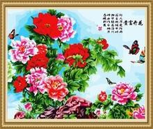 40*50cm handmade chinese painting, framed oil paintings