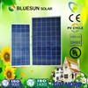 Bluesun TUV certificate stock in Rotterdam 250w solar panel cell