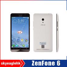 """Original zenfone 6 teléfonos celulares para intel z2580 atom de doble núcleo 3g smartphone android 6.0"""""""
