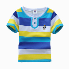 suministro directo de fábrica los niños 2015 teñida hilado camisa de polo de primavera y otoño y verano
