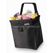 stylish fabric printed customize storage bag car trash bag for car