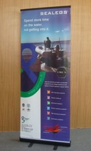 2015 New Portable Backdrop roll up Banner