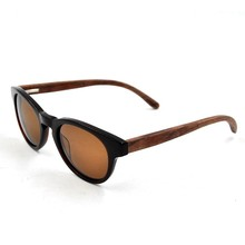 New style most fashion frame wooden sunglasses free bamboo case