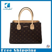 Free Shipping Brand Designer Women Handbags Floral Printing Ladies New Fashion Bags For Wholesale Factory