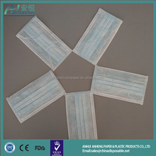 disposable dental clinic 3 ply surgical disposable face mask