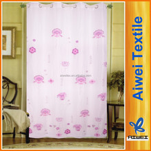 100% Polyester Organza Model of Living room Curtain
