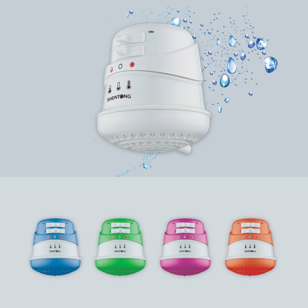 Calentador de agua el ctrico instant neo para ducha ss st 06 - Calentador de agua precios ...
